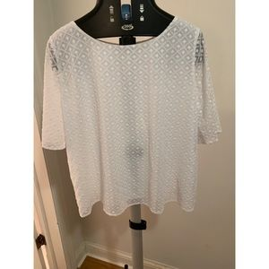 New with tags! White Ann Taylor Blouse!